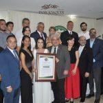 El equipo de Lácteos Don Joaquín con la junta directiva de Cámara de Comercio, Industrias y Agricultura de Chiriquí